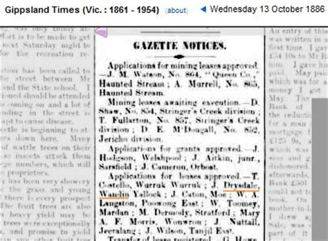 Mary Drysdale pioneers of silvan south wandin or the mountain a