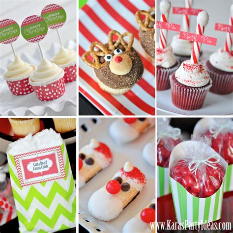 free printable christmas party decorations kara s party ideas 187 free printables modern festive