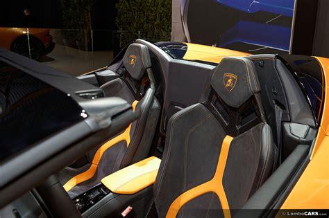 Lamborghini Seats Lamborghini Huracan Lp610 4 Spyder Revisit Huracan Lp610