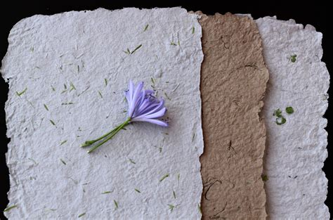 Handmade Recycled Paper - beautiful handmade paper recycled paper unique wedding