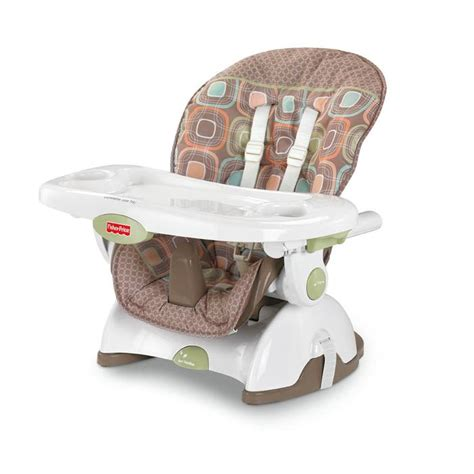 fisher price space saver high chair coco sorbet baby