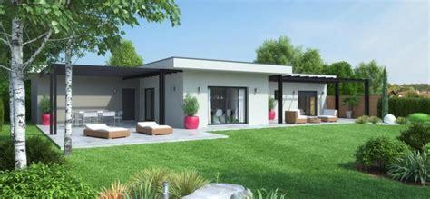 Terrasse Couverte Maison by Maison Calivan Contemporaine Plain Pied Terrasse Couverte