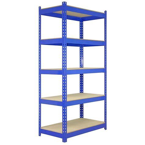 Shelf Warehouse Company by 5 Racking Bays 90cm Warehouse Shelving Storage Garage
