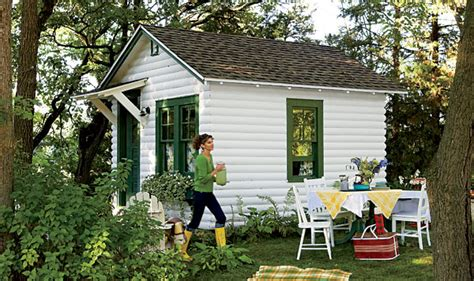 small backyard cabins small and heartfelt backyard cottage shed studio the dream