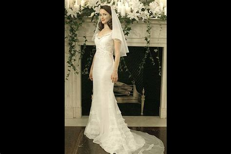 second wedding dresses new york city who made s wedding dress in and the city