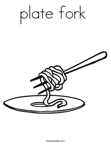dinner plate coloring page sketch coloring page