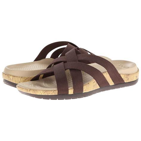 Sandal Croc crocs 14558 cyprus iv heel sandal for wwathleticshoess