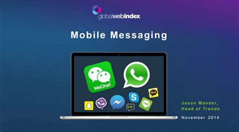 free mobile instant messenger mobile messaging usage in india increases by 113 percent