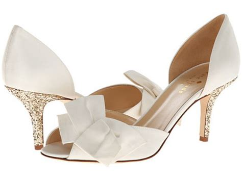 Ivory Gold Wedding Shoes by Get The Trend At Any Budget Bridal Shoes With Bows