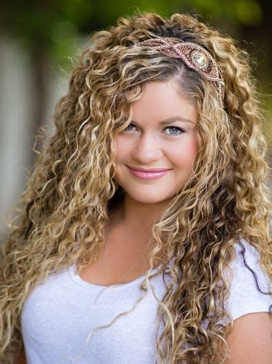 headband face shapes and hairstyles long blonde hairstyles for naturally curly hair with