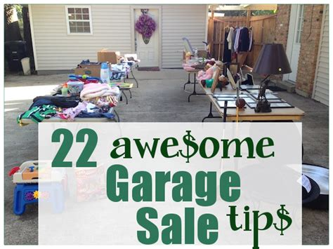 Where To Advertise Garage Sales by 22 Awesome Garage Sale Tips To Make A Profit