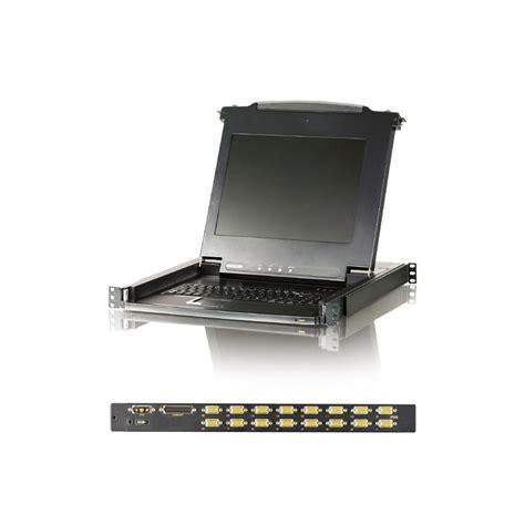 Aten Cl1008 harga jual aten cl1008 slideaway lcd kvm switch