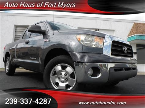 Toyota Of Fort Myers 2008 Toyota Tundra Sr5 2 Wheel Drive For Sale In Fort