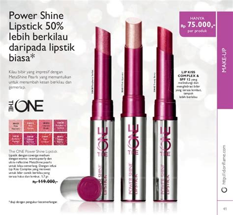 Oriflame The One Colour Unlimited Lip Gloss Evermore 30642 katalog oriflame mei 2016 of the year 2016 indonesia