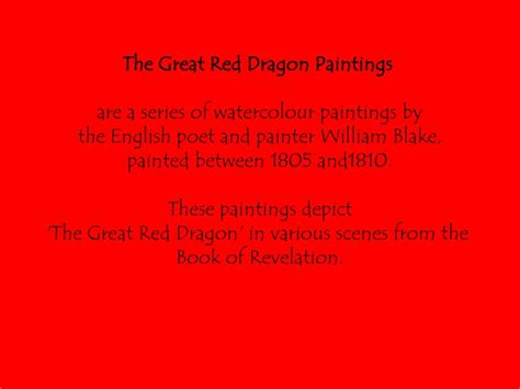 the red dragon series by william blake nx power lite
