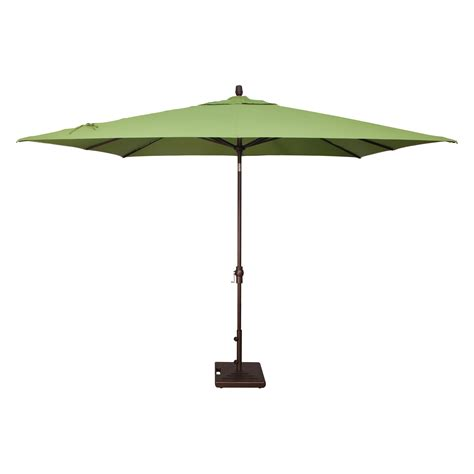 rectangular sunbrella patio umbrellas rubbed bronze