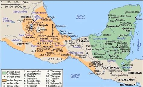 aztec empire map mexicanhistory org mexican history from ancient times to today