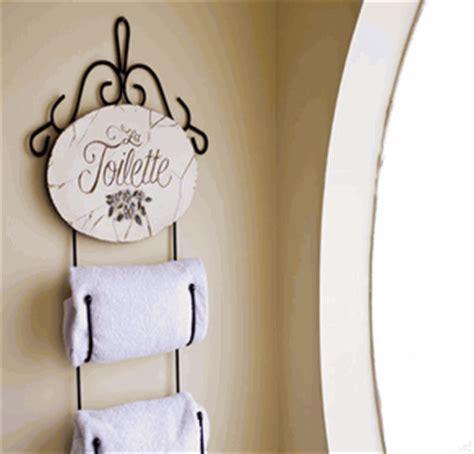 Decorative Towels For Powder Room by Bathroom Decor Towel Holder Powder Room Signs