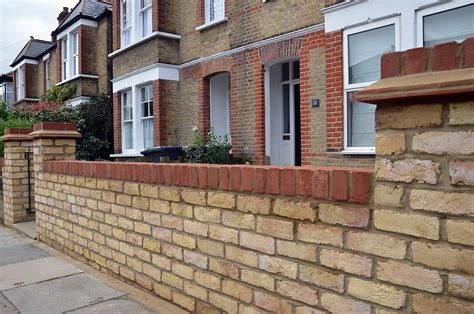 London Brick Work Pillars For Front Garden Wall Google Brick Garden Walls