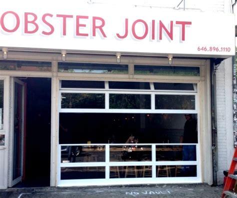 The Door Restaurant Ny lobster joint restaurant aluminum and glass roll up door ny
