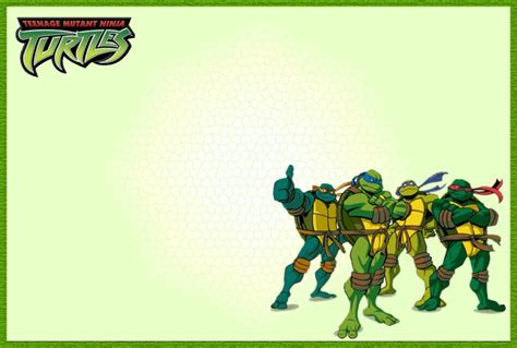 mutant turtles card template mutant turtles another great idea for a