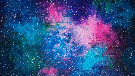 watercolor nebula tutorial galaxy painting tutorial acrylic www imgkid com the
