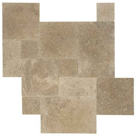 french pattern travertine tiles noce tumbled french pattern travertine pavers natural