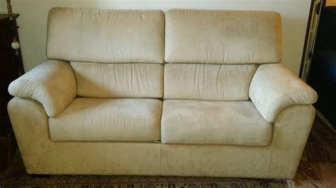 divano letto dondi divano letto e 2 poltrone dondi in microfibra su