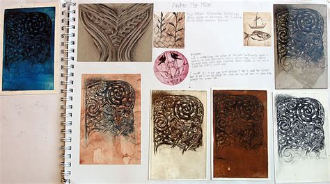 sketchbook guide 100 igcse and design an exemplary coursework project