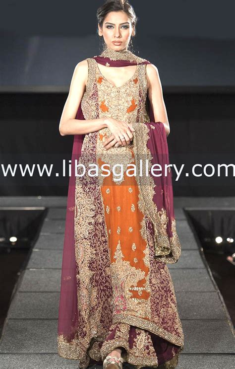 Pusat Grosir Baju Luxury Dress 2 Orange Skin orange frocks dress design 2378 fashion designer