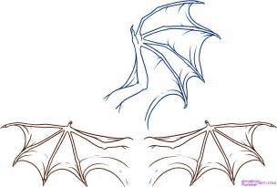 Draw A How To Draw Wings Step By Step Dragons Draw A