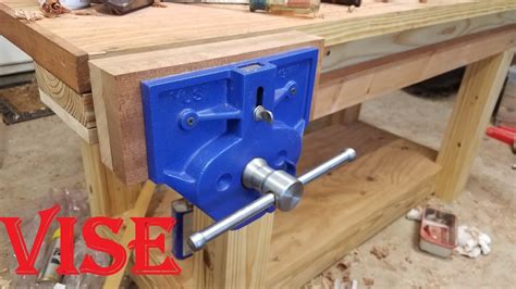mounting a woodworking vise installing a big vise yost 9 inch release vise