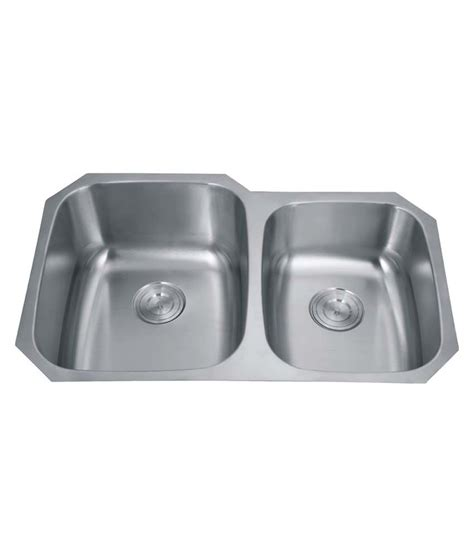 Buy Silver Line Undermount Stainless Steel Kitchen Sink 60 Buy Undermount Kitchen Sink