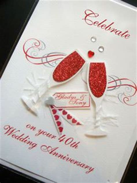 Handmade Anniversary Cards For Parents - 1000 images about anniversary cards on