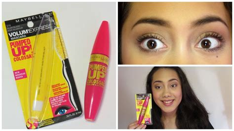 Maybelline The Colossal Volum Express Mascara Expert Review by New Maybelline Pumped Up Colossal Volum Express