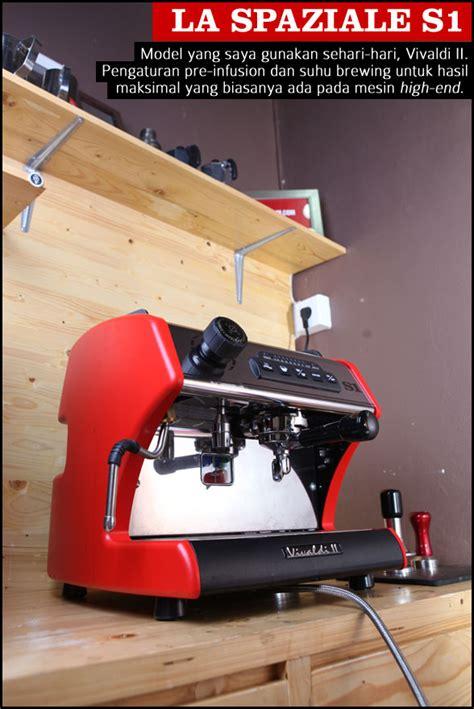 Mesin Kopi La Spaziale S5 Mesin Espresso Untuk Warung Kopi 2 Cikopi
