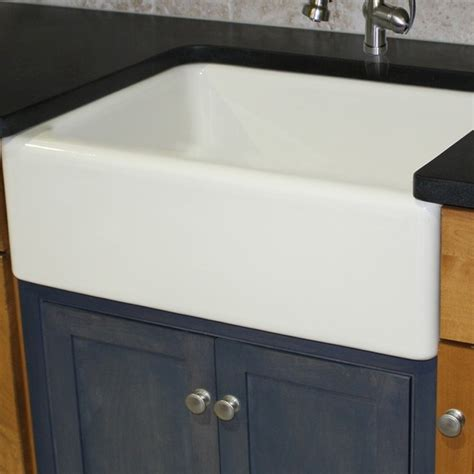 30 Inch Kitchen Sinks Italian Fireclay 30 Inch Farmhouse Kitchen Sink Contemporary Kitchen Sinks By Overstock