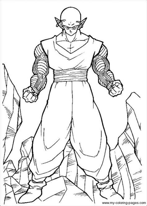 get this printable dragon ball z coloring pages online 49159