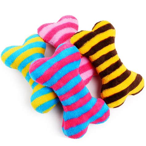 chewy supplies 1pc soft plush bone shaped squeak cat supplies toys chewy ebay