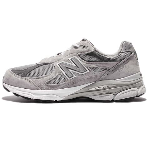 running shoe made in usa new balance m990gl3 2e grey white made in usa mens top