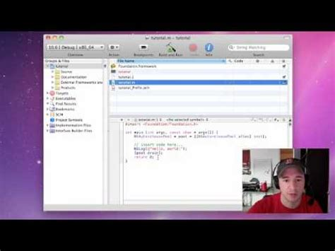 tutorial c xcode objective c programming tutorial 1 setting up xcode