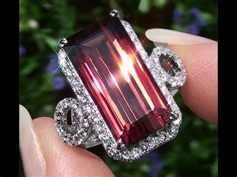 pink tourmaline hq memo certified flawless world class pink tourmaline