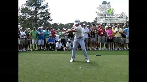how to swing like adam scott adam scott us masters chion 2013 golf swing youtube