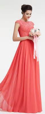 Bridesmaid Dresses The 25 Best Coral Bridesmaid Dresses Ideas On