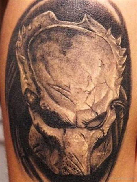 alien head tattoo tattoos designs pictures