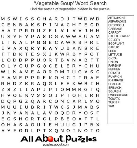 printable crossword puzzles vegetables print out these fun word search puzzles words