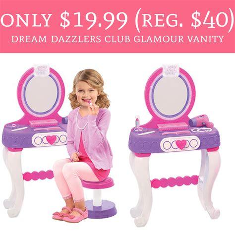 Dazzlers Vanity by Dazzlers Light Up Princess Vanity Set Onideas Co