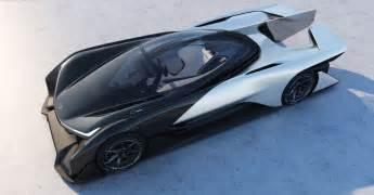Electric Car Horsepower Faraday Future Unveils Stunning 1 000 Horsepower Ffzero1