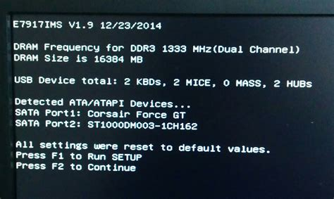 reset bios msi gaming 5 msi gaming 5 memory and bios reset problem solved