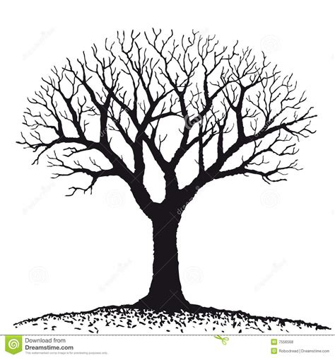 tree vector bare tree clipart free large images